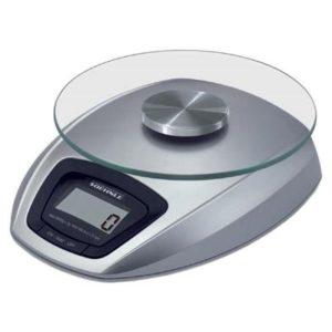 Veggie Meals - Soehnle Siena Electronic Kitchen Scale 5kg/1gm/Ml Silver