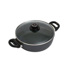 Veggie Meals - Swiss Diamond 24 x 7.5 cm Round Casserole With Lid 3.0 litre