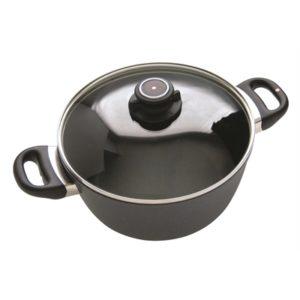 Veggie Meals - Swiss Diamond 24x12cm Induction casserole with lid 4.5 litre