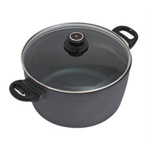 Veggie Meals - Swiss Diamond 28cmx15cm Round Casserole With Glass Lid 8.0 litre