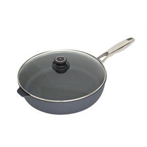 Veggie Meals - Swiss Diamond 32x8cm Saute Pan with lid 5.5 litre