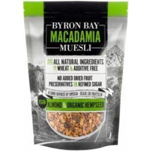 Byron Bay Macadamia Muesli Almond & Organic Hempseed 400g