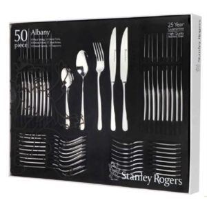 Veggie Meals - Stanley Rogers Albany 50pc Cutlery Set