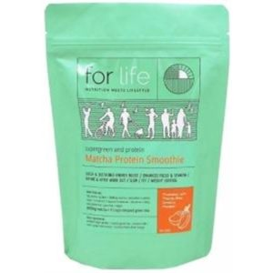 For Life Matcha Protein Smoothie Powder Mango 500g