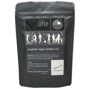 For Life Complete Vegan Protein 2.0 Powder 500g