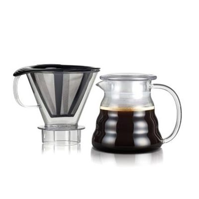 Veggie Meals - Bodum Melior Coffee Dripper - Transparent