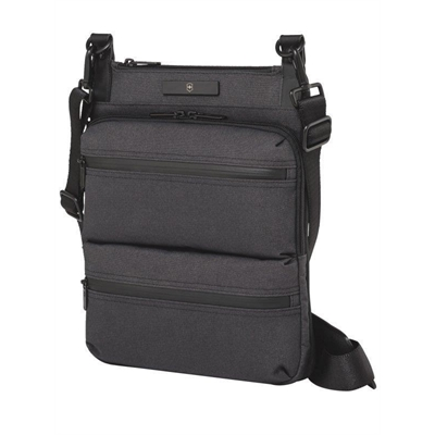 Veggie Meals - Victorinox Wilson iPad Crossbody Bag Black