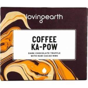 Loving Earth Organic Coffee Ka-Pow Chocolate Bar G/F 11x45g
