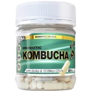BSc Probiotic Kombucha G/F 60 Vegan Caps