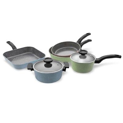 Veggie Meals - Neoflam Luke Hines Cookware Set + glass lids + BONUS Utensils