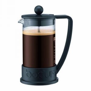 Veggie Meals - Bodum Brazil French Press Coffee Maker 3 Cup 0.35 Litre Black