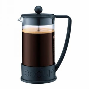 Veggie Meals - Bodum Brazil French Press Coffee Maker 8 Cup 1.0 Litre Black