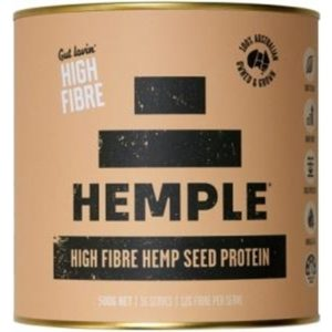 Hemple Gut Lovin High Fibre Hemp Seed Protein 500g