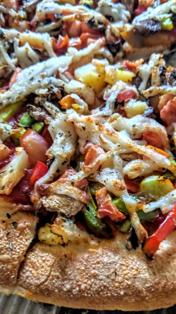 Veggie Meals Vegan Vegetarian Pizza Hut Vegan Pizzas Deluxe Deep Pan 1