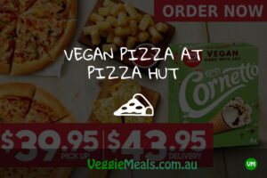 Veggie Meals Vegan Vegetarian Vegan Pizza at Pizza Hut