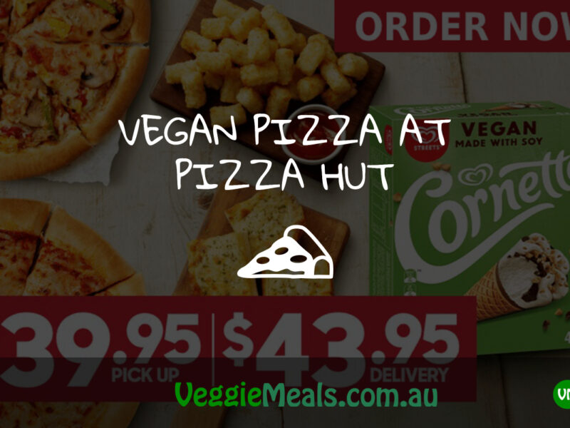 Veggie Meals - Vegan Vegetarian Vegan Pizza at Pizza Hut