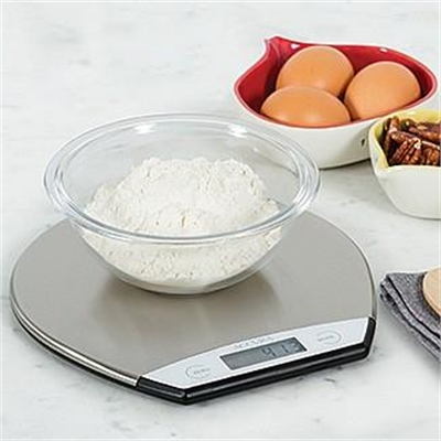 Veggie Meals - Accura Hudson Electronic Kitchen Scale 5kg/1gm/M Stainless Steel