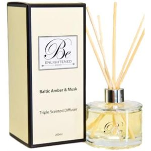 Veggie Meals - Be Enlightened Triple Scented Diffuser Baltic Amber & Musk