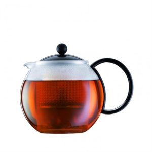Veggie Meals - Bodum Assam Teapot 1.0l Black