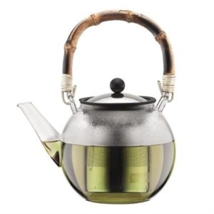 Veggie Meals - Bodum Assam Tea Press 1.0L with Bamboo Handle