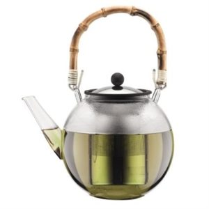 Veggie Meals - Bodum Assam Tea Press 1.5L with Bamboo Handle