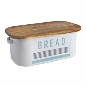 Veggie Meals - Jamie Oliver Bread Bin with Chopping Board lid