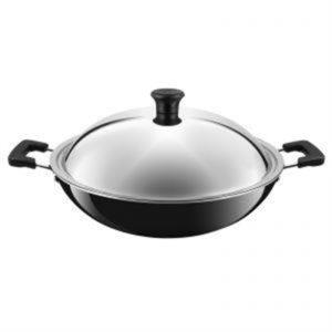 Veggie Meals - Tefal Ceramic Coated Wok 36cm