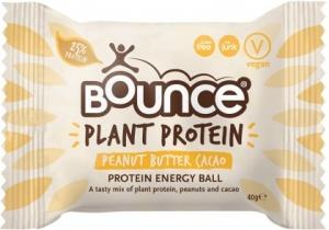 Bounce Plant Protein Peanut Butter Cacao Balls G/F 12x40g