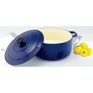 Veggie Meals - Chasseur French Blue Round French Oven 26cm / 5.2 Litre
