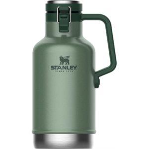 Veggie Meals - Stanley Easy-pour Beer Growler Hammertone Green 64 Oz/ 1.9l