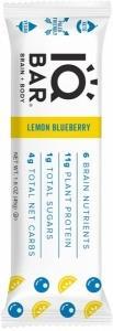 IQ Bar Brain + Body Lemon Blueberry Bar G/F 45g