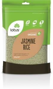 Lotus Organic Jasmin Rice 500gm