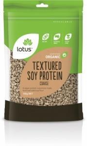 Lotus Organic TVP Coarse 100gm