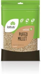 Lotus Organic Millet Puffed 175gm