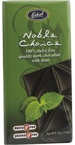 Eskal Noble Choice Mint Dairy Free Chocolate 85g