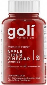 Goli Apple Cider Vinegar Gummies 60Pieces