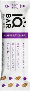 IQ Bar Brain + Body Almond Butter Chip G/F 45g