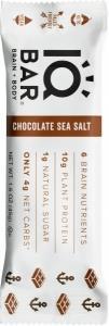 IQ Bar Brain + Body Chocolate Sea Salt G/F 45g