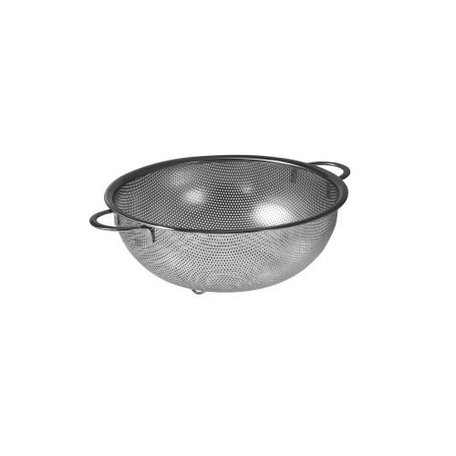 Veggie Meals - Avanti 25.5cm Perforated Stainless Steel Strainer with Handles