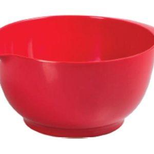 Veggie Meals - Avanti Melamine Mixing Bowl 24cm 3.5 Litre Red