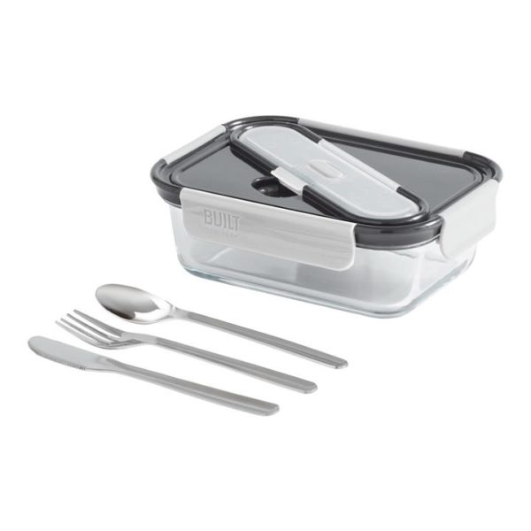 Veggie Meals - Built NY Gourmet Bento 3 Compartment 5pc Set