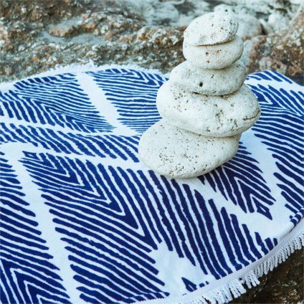 Veggie Meals - Lovin Summer Hamptons Beach Towel