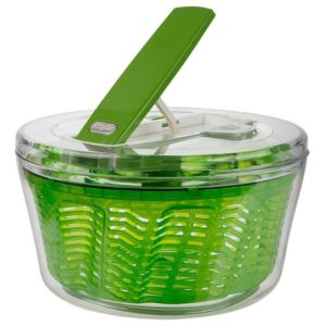 Veggie Meals - Zyliss Swift Dry Large Salad Spinner