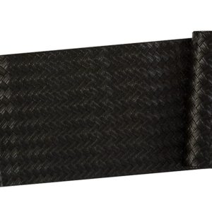 Veggie Meals - Maxwell & Williams Table Accents Leather Look Runner 30x150cm Black Plait