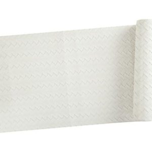 Veggie Meals - Maxwell & Williams Table Accents Leather Look Runner 30x150cm Ivory Plait