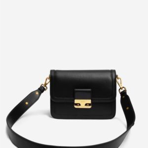 Veggie Meals - Kinsley Crossbody Bag - Black