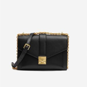 Veggie Meals - Lyra Chain Crossbody Bag - Black