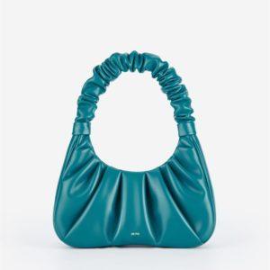 Veggie Meals - Gabbi Bag - Peacock Blue - Fashion Women Vegan Bag