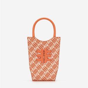 Veggie Meals - FEI Mini Tote Bag - Flame Orange